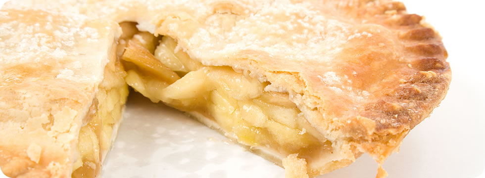 apple tart from our processed apple products